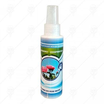 Течен дезинфектант за ръце с розова вода тип спрей 100 мл.